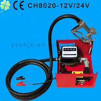 CH8020 DC CE automated fuel dispenser/oil transfer pump with filter