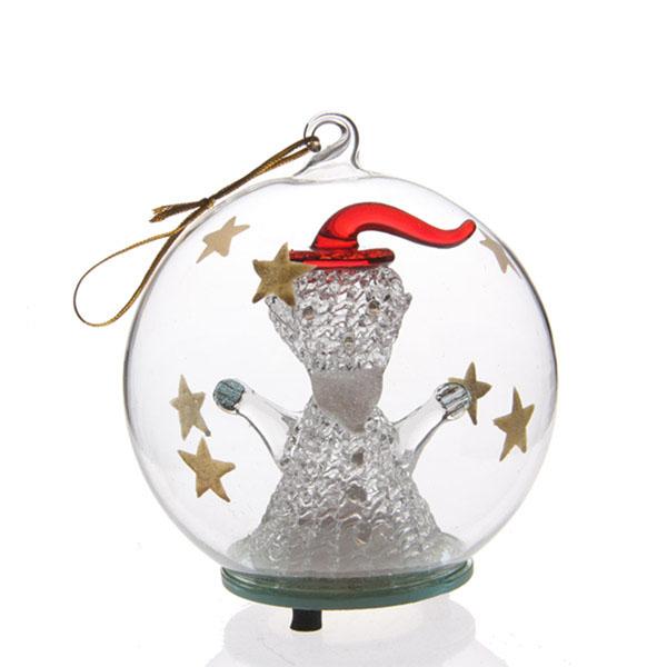 Bulk Christmas Ornaments Balls: Wholesale Clear Glass Christmas Ball Ornaments
