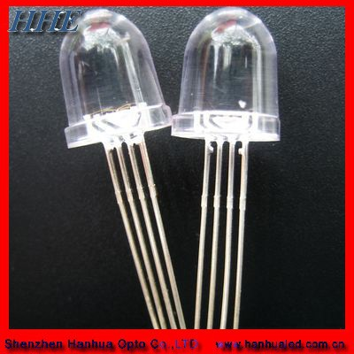 High Quality 5mm Rgb Led Dip 4 Pin Common Anode/cathode Diodes ...