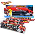 Original Hotwheels Heavy Truck CKC09 Toy Car Hold Truck Boys Hot wheels Truck Toys 6 Layer