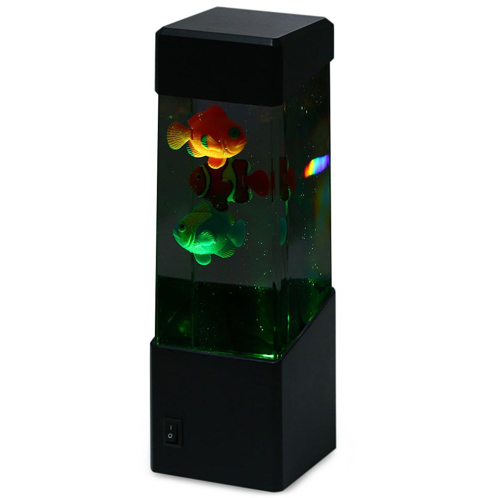 2019 Novelty Led Artificial Jellyfish Fish Aquarium
