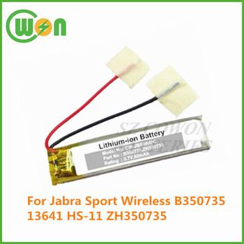 c7ebcee19e9 3.7V Jabra replacement battery B350735 13641 B350735 HS-11 ZH350735  100-96600003-
