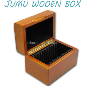 custom design wooden gold coin storage boxes australia market