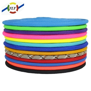 China cheap polyester/nylon/pp rope/cord/string polypropylene braided rope