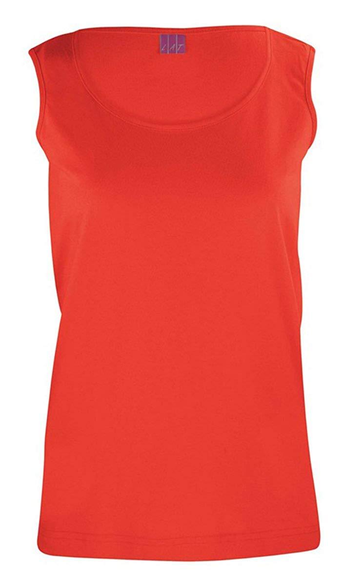 LAT Ladies' 100% Cotton Jersey Scoop Neck Tank Top