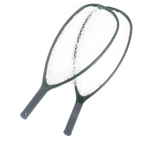 Peche Redes De Pesca 3 model Carbon Handle Rubber Mesh Landing Net Fly Fishing Tackle Misina Other Fishing Product Accessories