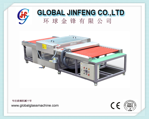 JFW-800 horizontal small size  glass washing and drying machine