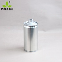 round empty 16oz metal cans 500ml glue tins for adhesive or paint
