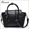 2017 Factory Popular Fashion Custom Hand bag Lady Black Leather Shoulder Satchel Bag UK Women Handbags