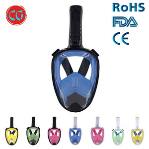 New Arrival Underwater Scuba Gear 180 Degree Diving Set Full Face Snorkel Mask