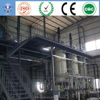 new energy pilot equipment daily 500 kg diesel vegetable oil with civil engineering