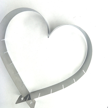 Professional Adjustable Heart-Shaped Cake Ring/Baking Frame/Cake mould