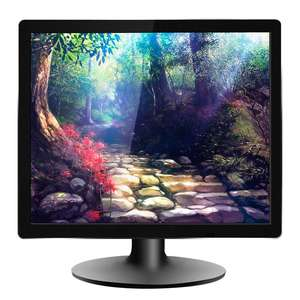 Best Quality 17inch 1280*1024 Desktop Computer TFT LCD Monitor With AV Input
