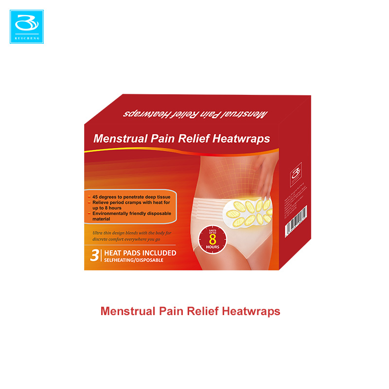 Beauty Health Care Menstrual Pain Relief Compress Patch Heated Back Warmers