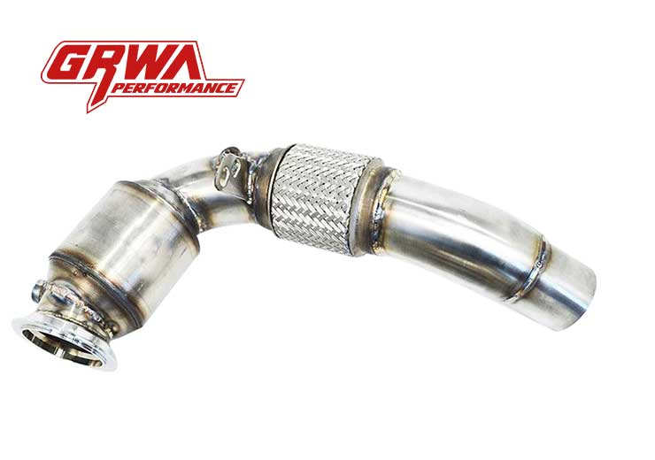 Downpipe Best Quality Stainless Steel 304 Downpipe Exhaust For BMW M5 F10 With Catalytic Converter