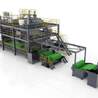 double beam spunbond nonwoven production line non woven fabric making machine