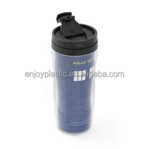 Personalized Insert Paper Changeable Plastic Travel Mug