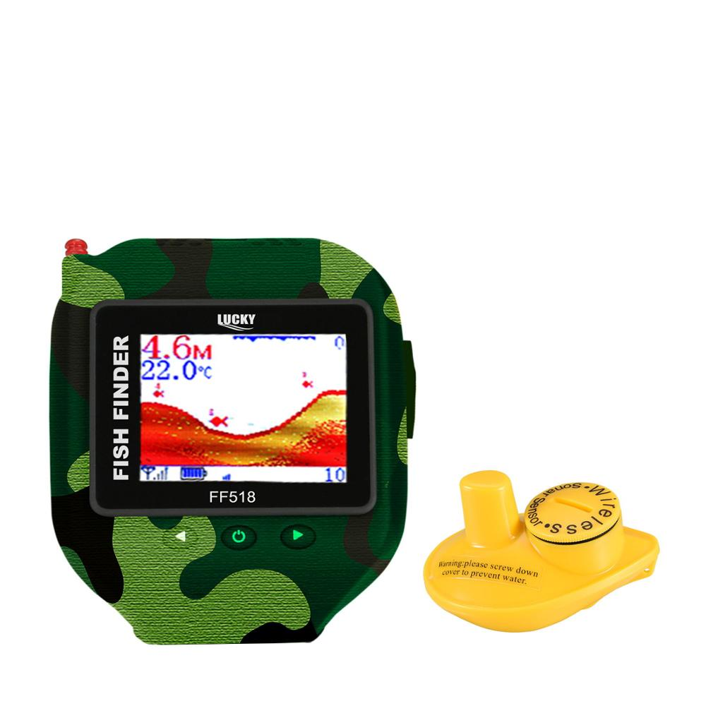 LUCKY RAMBO jungle ff518 camouflage series wearable cool watch wireless fish finder
