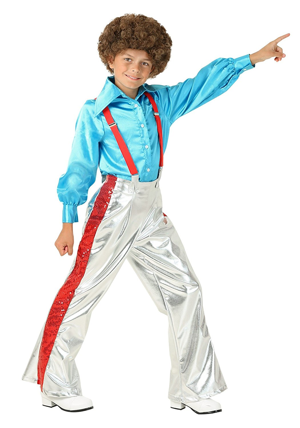 77983fac6b386a Get Quotations · Fun Costumes boys Boy s Funky Disco Costume