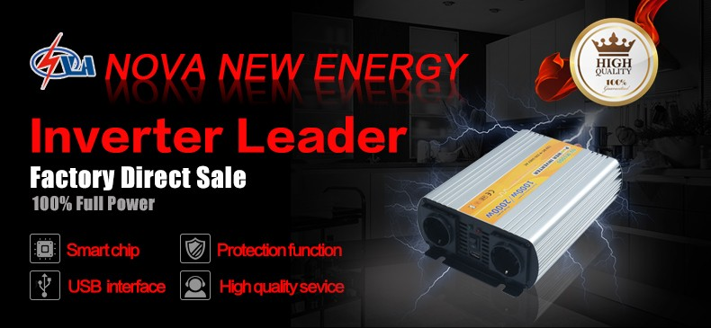 1000W off grid dc to ac modified sine wave power inverter