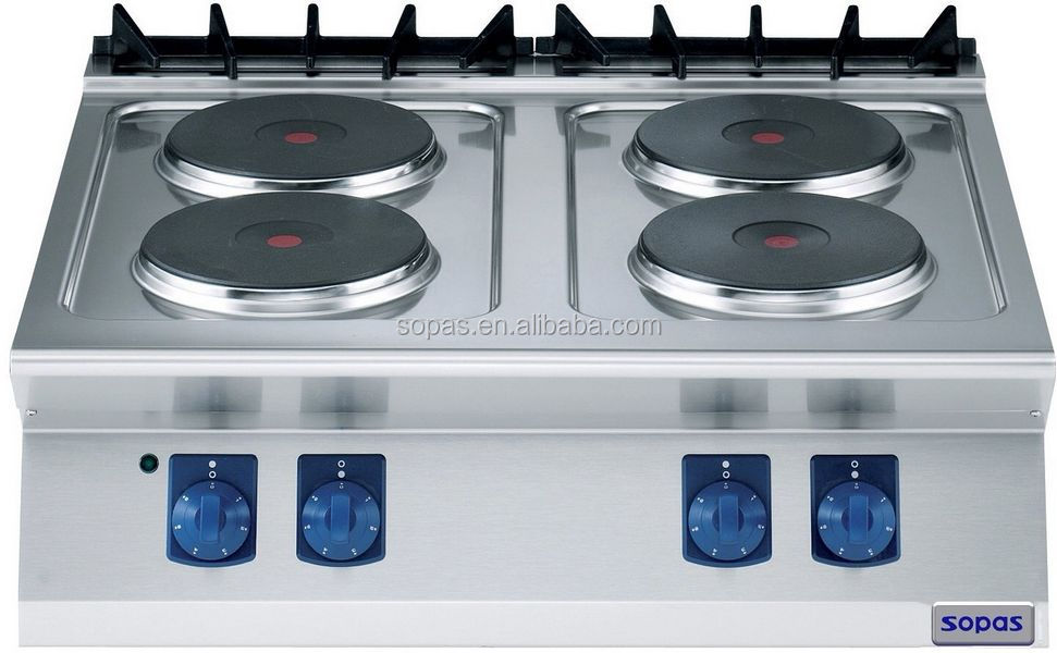 Commercial Kitchen Equipment Hot Plate Electric Stove