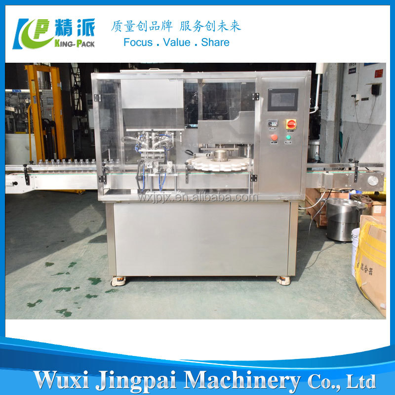 KPGX Automatic Cooking Salad Oil Filling Machine And Capping Machine For Sale