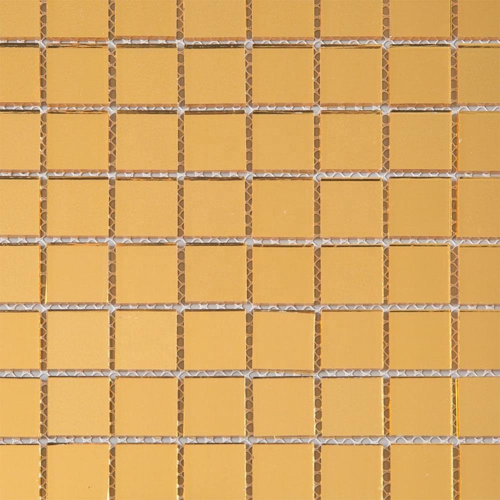 Soulsccraft Giá Rẻ Vuông Vàng Kính Mosaic Gạch Để Trang Trí
