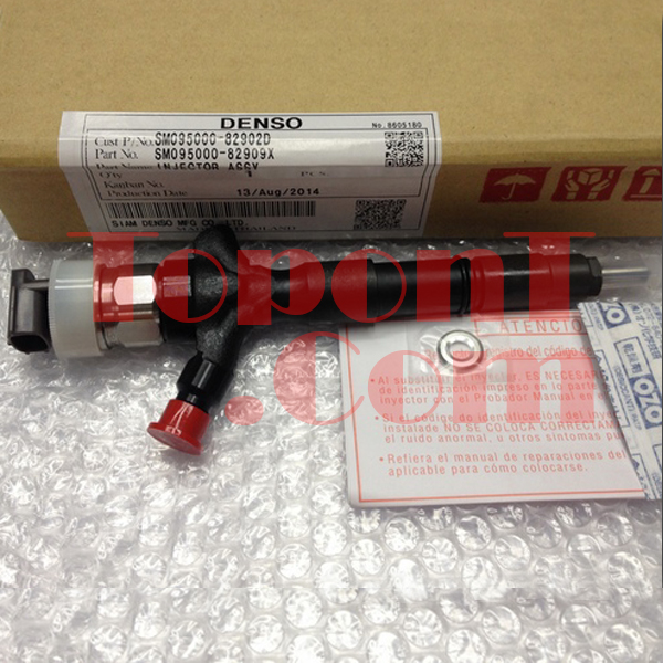 Genuine Denso Common Rail Diesel Fuel Injector For Toyota Hilux Hiace 2KDFTV 095000-8290 095000-8220 23670-0L050 23670-09330