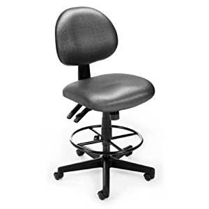 OFM 241-DK-MEAD Elements 24 Hour Task Chair With Drafting Kit, Meadow