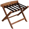 LG-058 Foldable Solid Beech Wood Hotel Luggage Rack