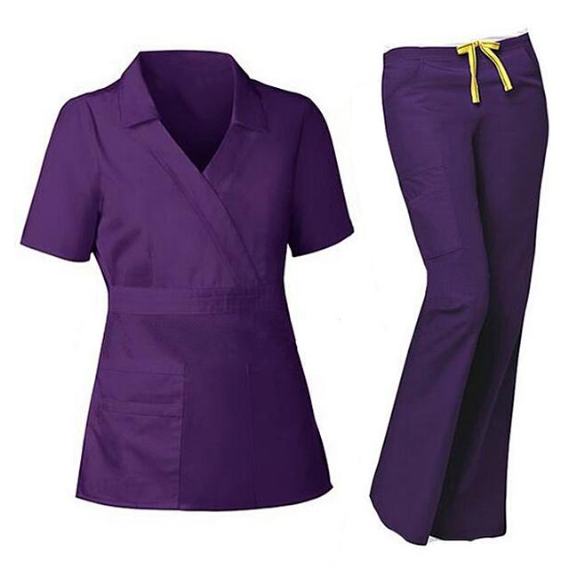 High Quality Loose Shape Medical Scrubs Suits Nursing Uniforms