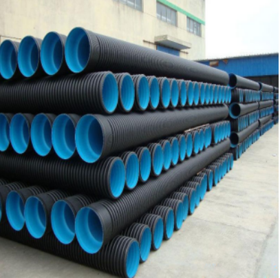 High ring stiffness 50mm HDPE corrugated drainage pipe