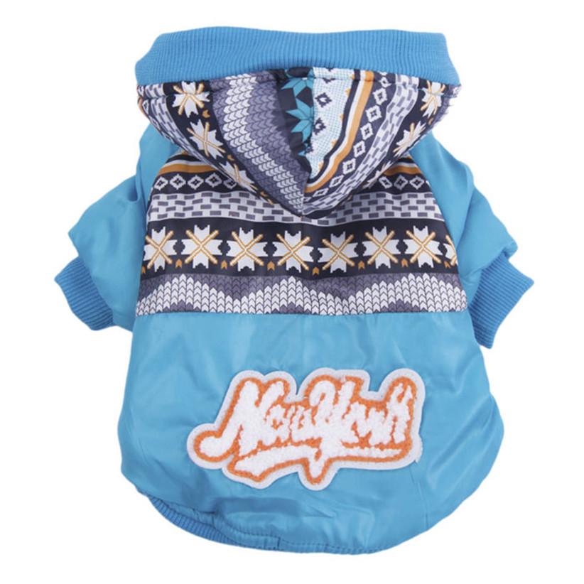 Недавно дизайн водонепроницаемый зима одежда для собак хлеб теплое пальто куртки толстовки одежда для домашних животных собак July27