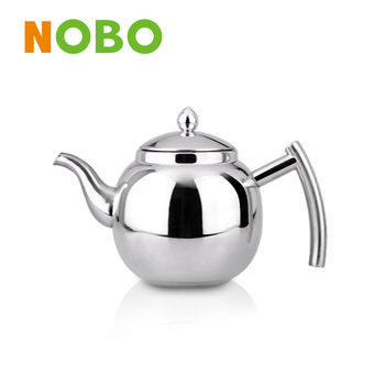 High quality stainless steel mini tea pot with infuser