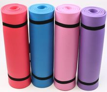 6MM Custom Print Private Label Non-Slip Fitness Gym Exercise NBR Yoga Mat