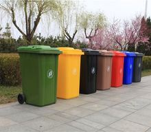 wholesale dustbin with ashtray plastic waste bin pull out waste bin