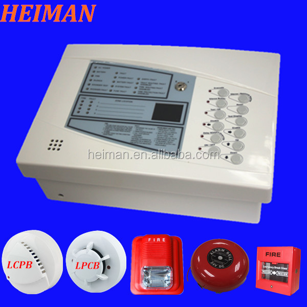 Ce Approved 4 Zones 2 Wire Conventional Fire Alarm Control Panel View Conventional Fire Alarm Control Panel Heiman Product Details From Shenzhen