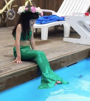 2016 Hot Sexi Photo Image Mermaid Tail Girls Printing One Piece ...