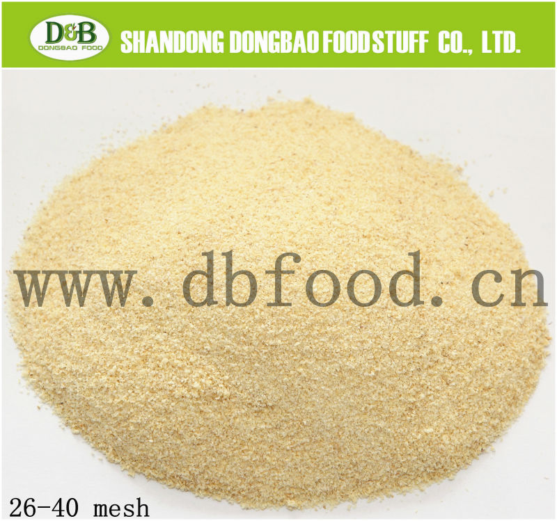 dried garlic granule G2 with BRC, GAP, KOSHER&HACCP