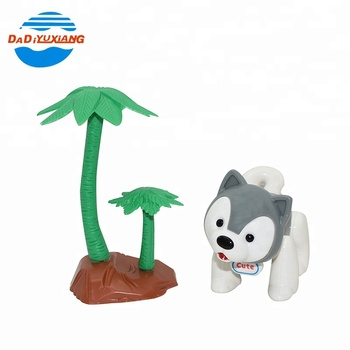 Plastic educational forest party set cute dog toy animal with tree, View  toy animal, Dadi Product Details from Shantou Dadi Plastic Toys Industry  Co ,