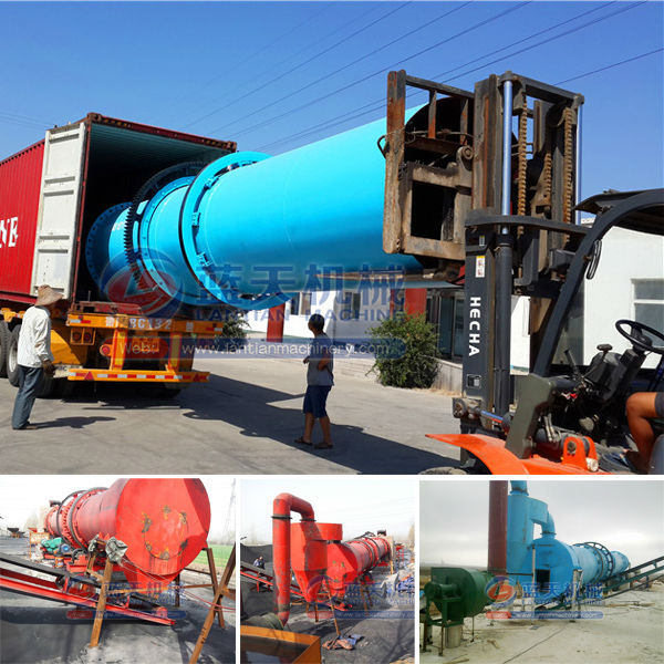 Professional Manufacturer Silica Sand Coal Rotary Drum Dryer