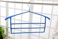 multifunctional PVC coated multi-layer clothes hanger for pants