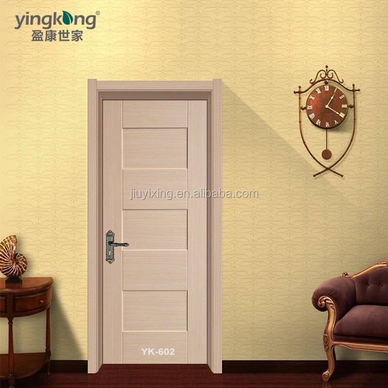 China Supplier Building Material Wood Interior Door With Teak Ply ...