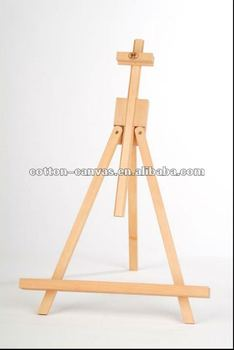 woodent table top easel
