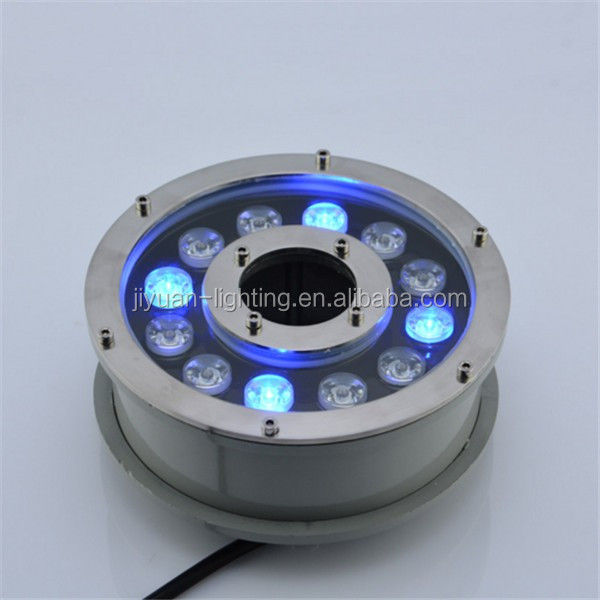 RGB led fountain underwater light