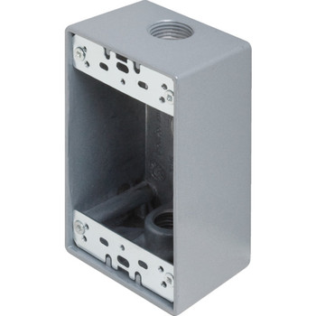 One Gang Electrical Weatherproof Junction Outlet Box