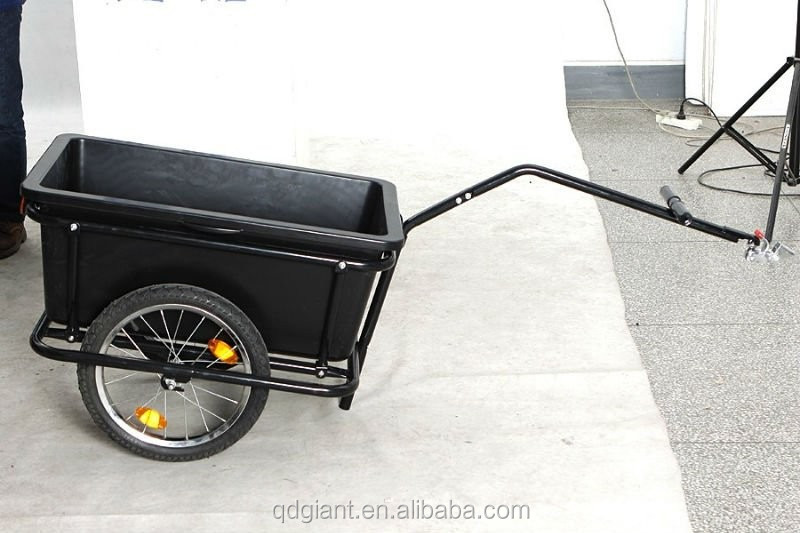 Cargo Bike Trailer For Shopping And Loads