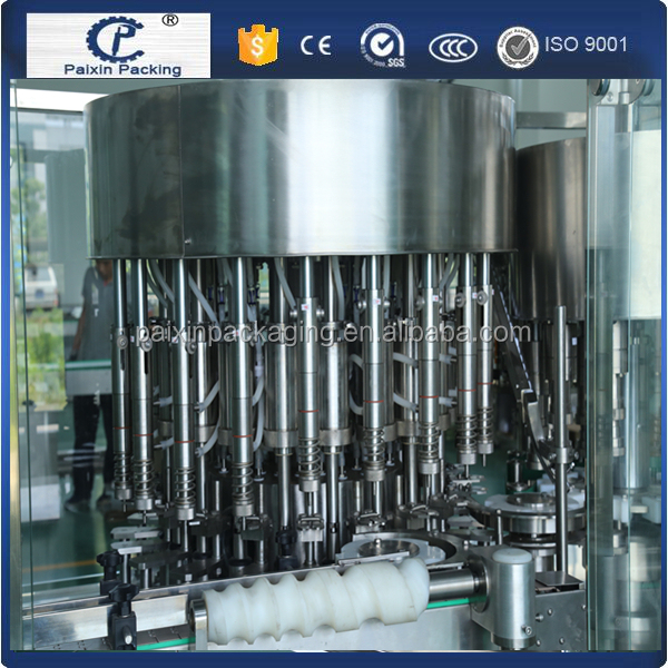 High quality sugar syrup plastic bottle packing machine saving and CE standard