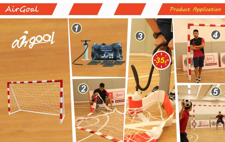 Handball Net (inflatable & portable 3m*2m handball goal)