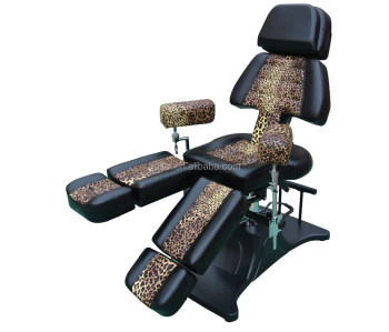 New Best Leopard Salon Hydraulic Facial Bed Spa Table Tattoo Salon